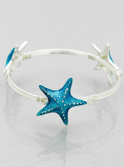 Starfish Wire Bracelet